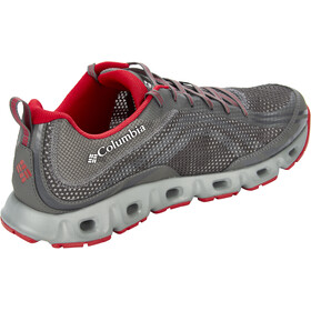 Columbia Drainmaker IV Kengät Miehet, city grey/mountain red